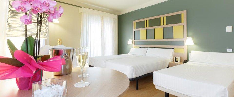Habitación triple Hotel Ciutat Barcelona