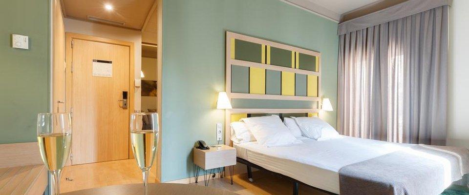 Habitación single Hotel Ciutat Barcelona